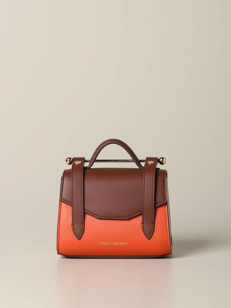 Strathberry Mini Bag Allegro Micro Strathberry Handbag In Tricolor Leather - multicolor