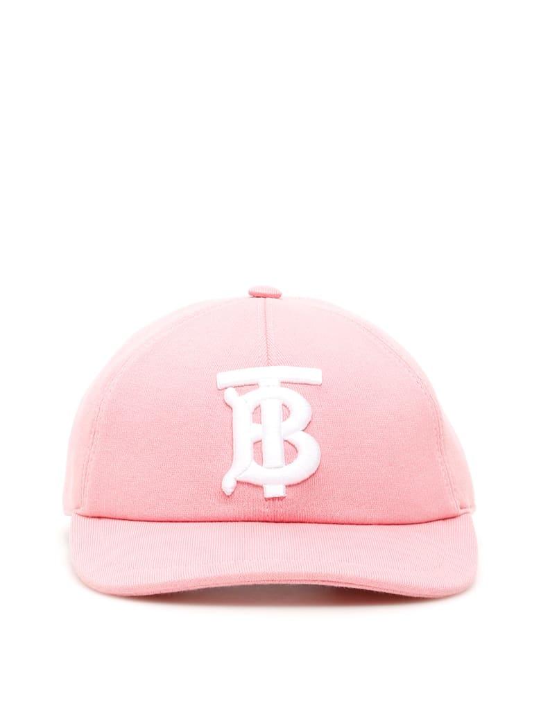 Burberry Jersey Baseball Cap - Rosa