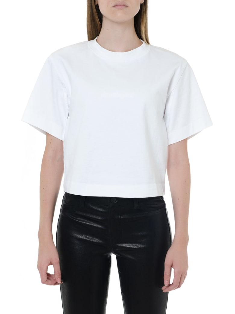 Acne Studios White Cropped Length T-shirt - White