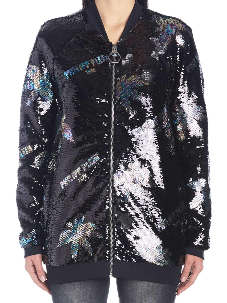 Philipp Plein 'palms' Jacket - Black