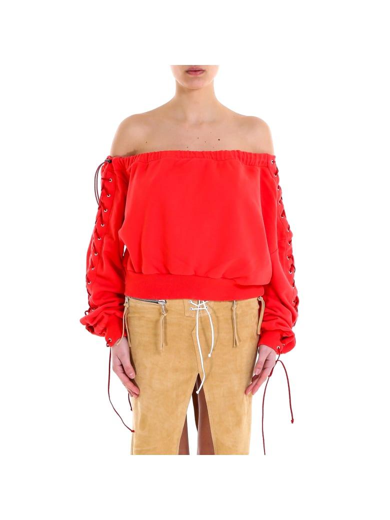Ben Taverniti Unravel Project Sweatshirt - Red