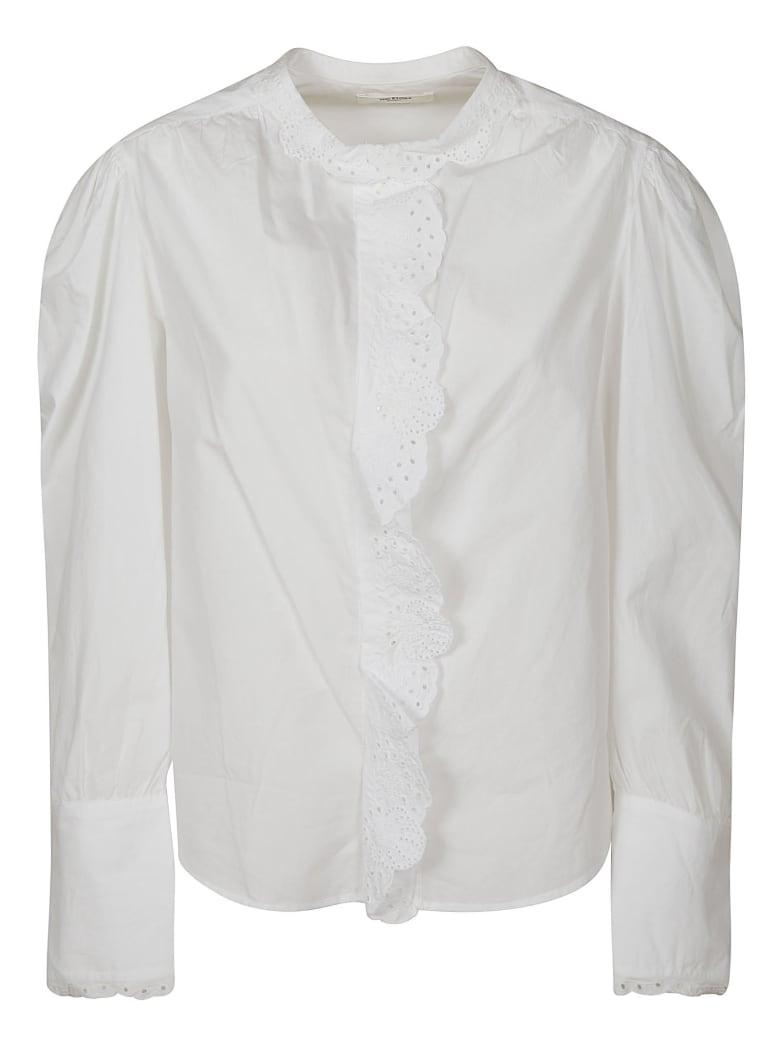 Isabel Marant Cropped Blouse - White