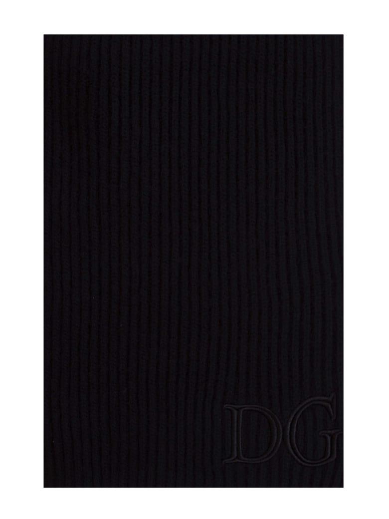 Dolce & Gabbana Dg Scarf - NERO