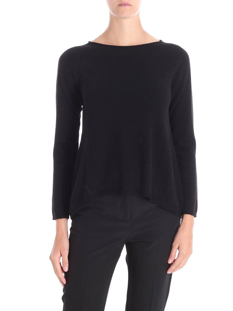 Kangra Cashmere Sweater - BLACK