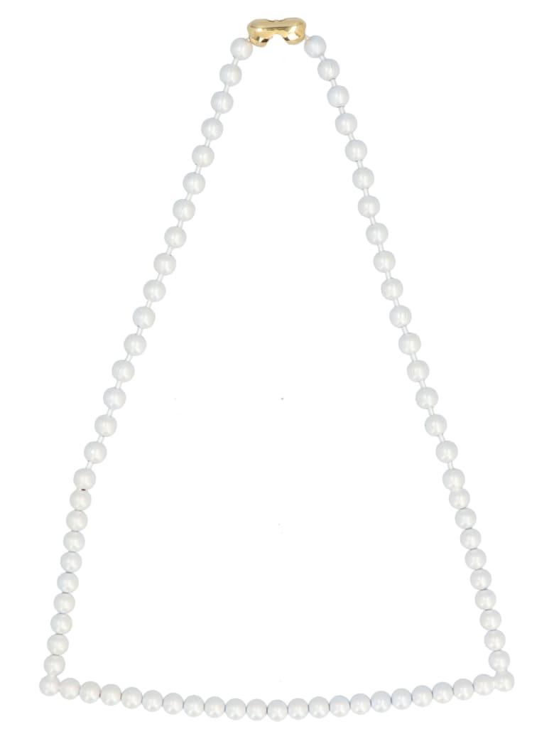 MM6 Maison Margiela Necklace - White