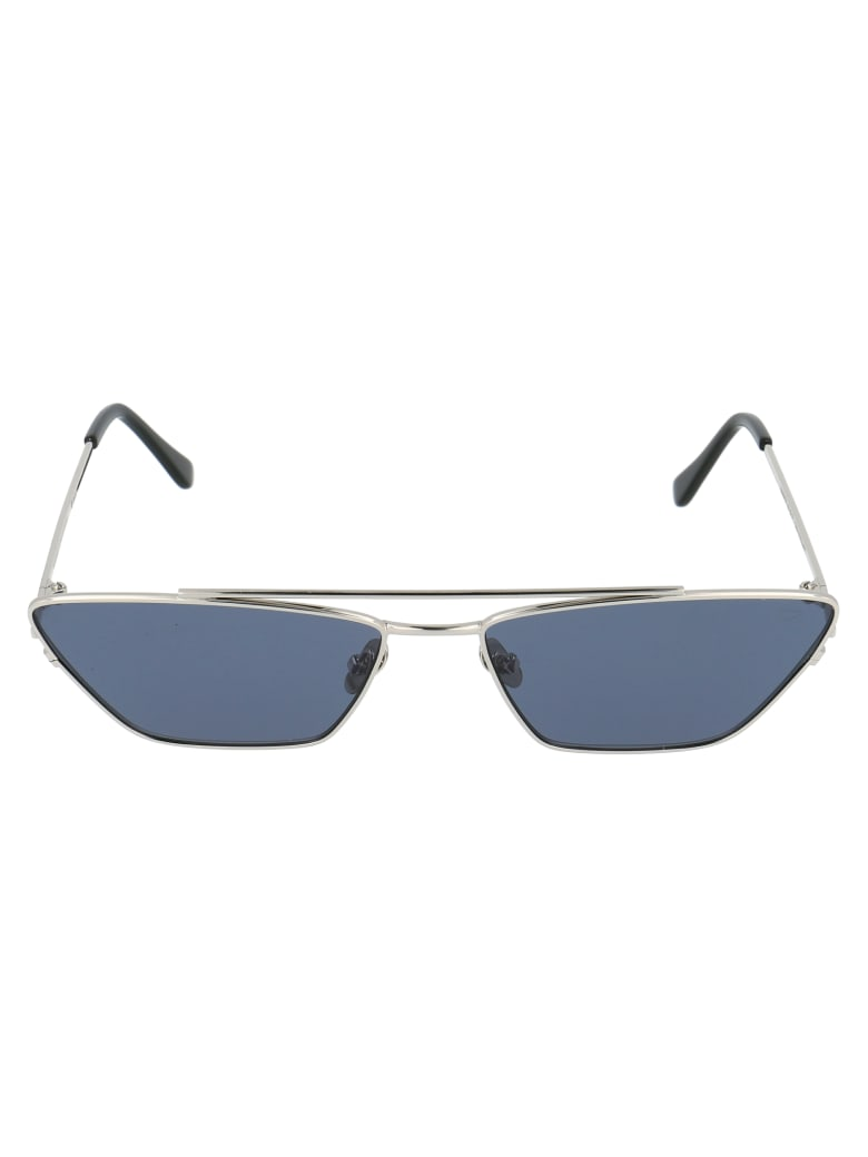 Spektre Sunglasses - Argento/fumo