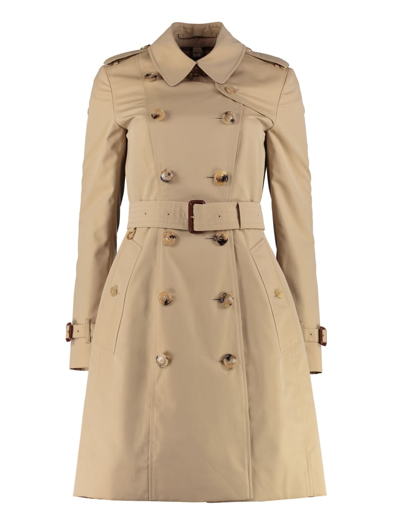 Burberry Heritage The Chelsea Medium Trench Coat - Beige