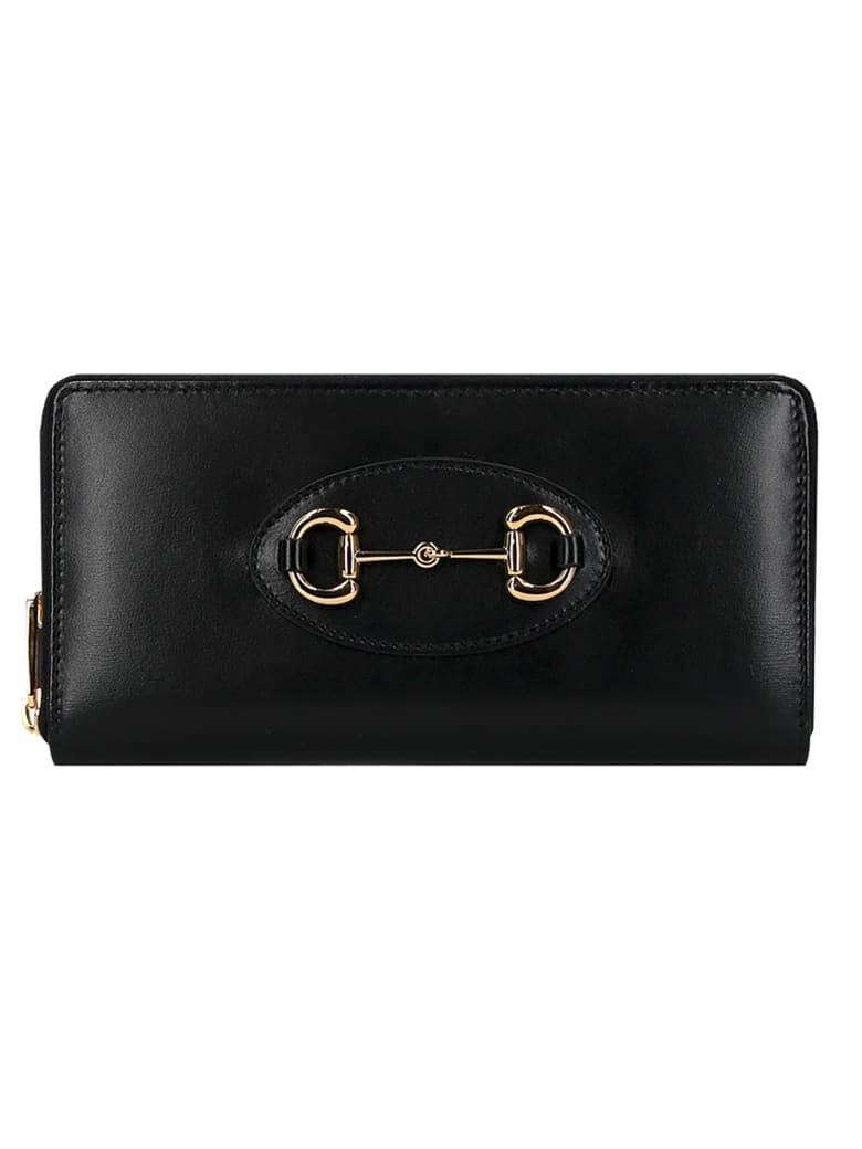 Gucci Gucci 1955 Horsebit Wallet - Nero