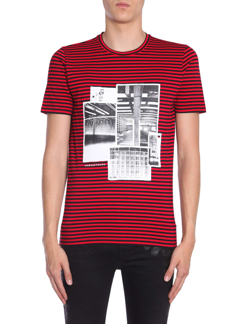 Diesel Black Gold Ty-industrial T-shirt - ROSSO