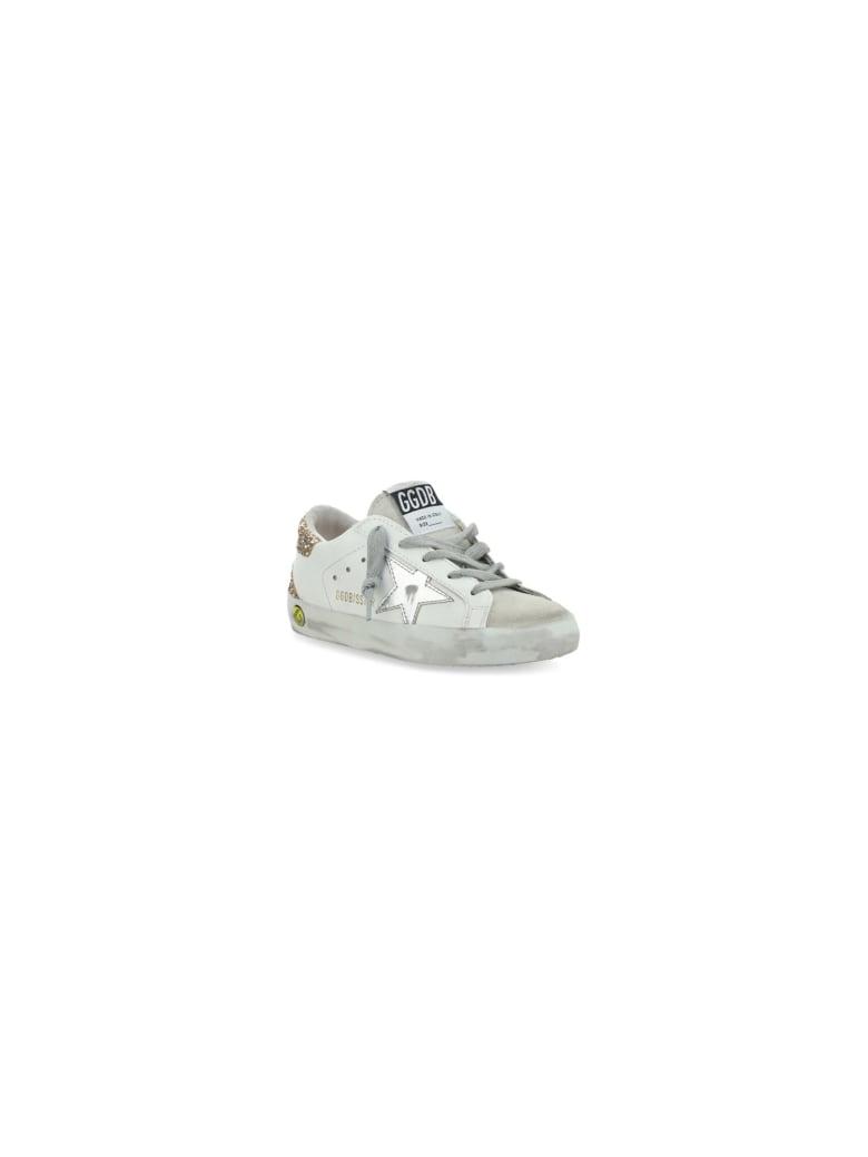 Golden Goose Super Star Sneakers For Girl - Off white