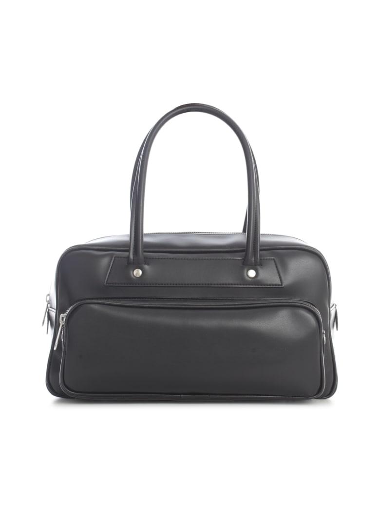 Comme des Garçons Comme des Garçons Synthetic Leather Small Tote Bag - Black