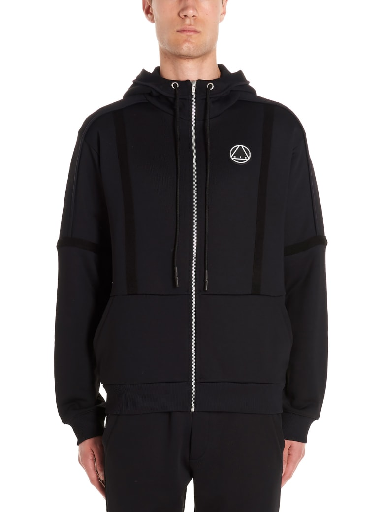 McQ Alexander McQueen 'inside Out' Hoodie - Black