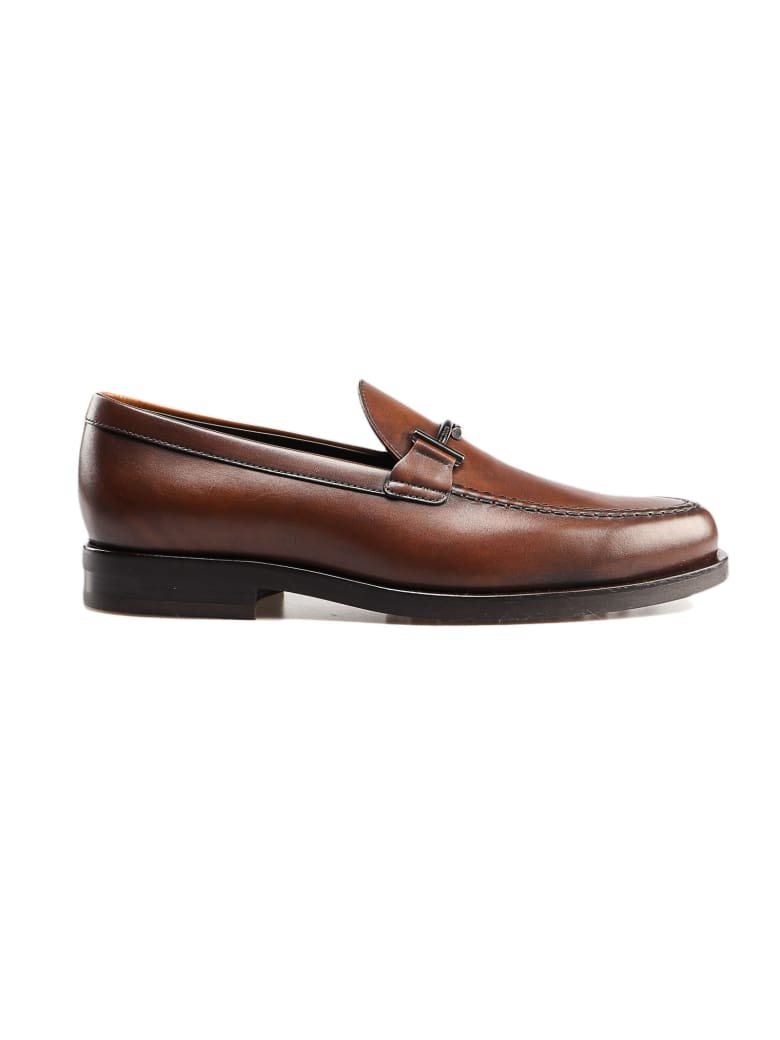 Tod's Doppia T Loafer - Cacao