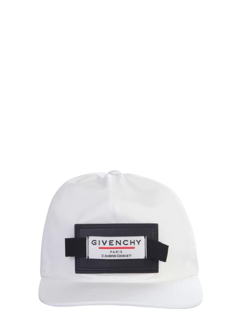 Givenchy Baseball Hat With Logo - White/black