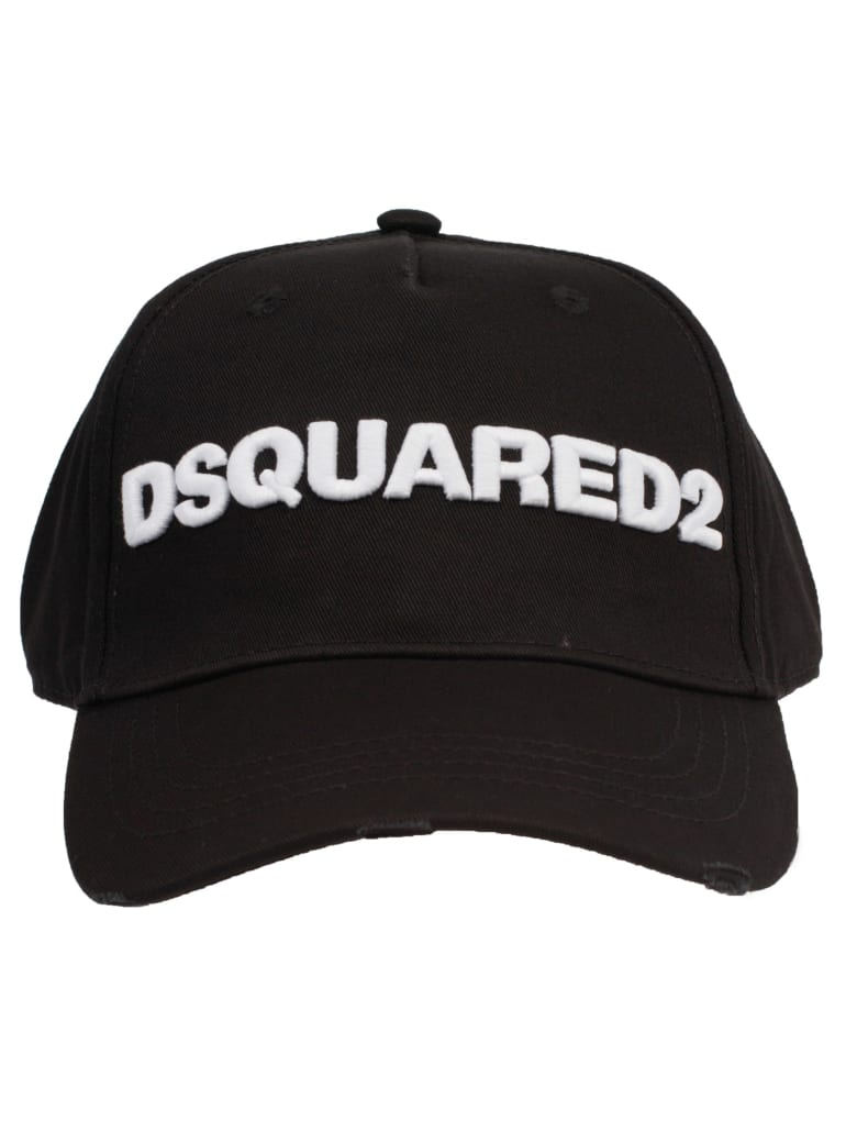 dbbb3e786 Dsquared2 Logo Embroidered Cap