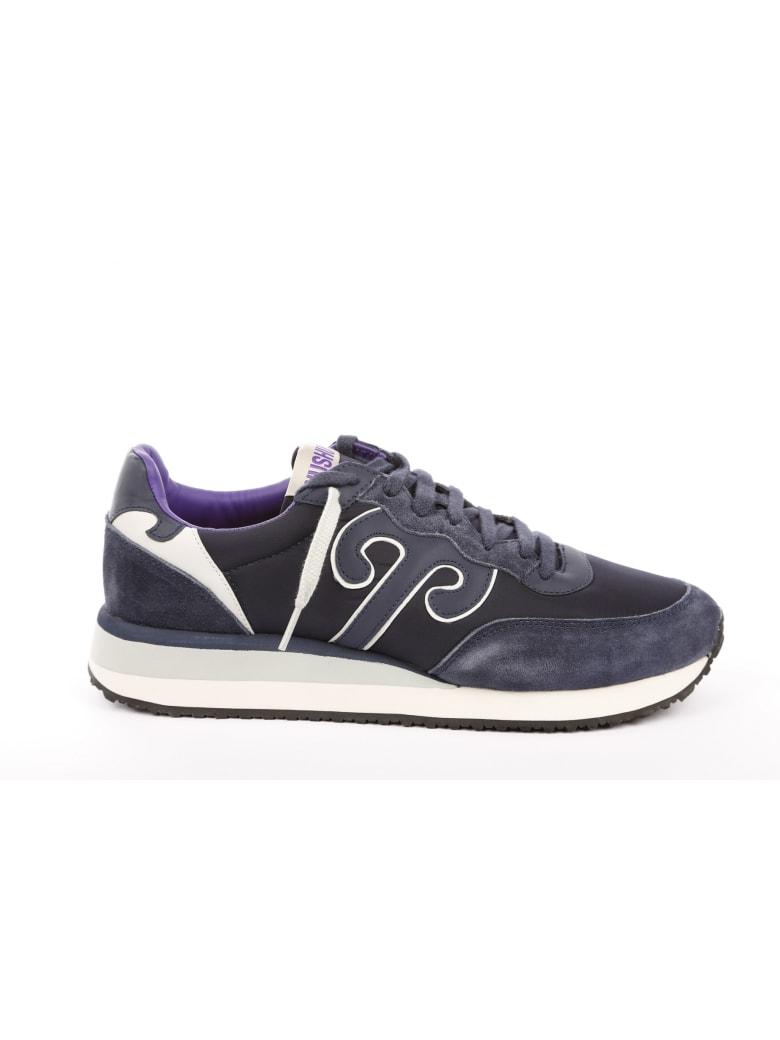 Wushu Ruyi Leather Sneaker - Blue