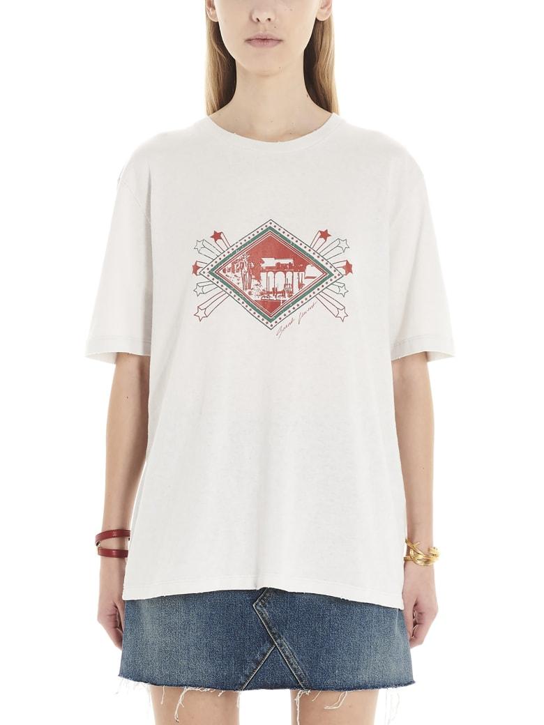 Saint Laurent 'jardin Majorelle' T-shirt - White