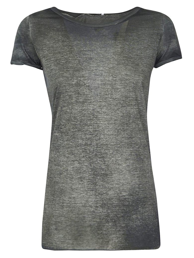 Avant Toi Slim Color Faded T-shirt - Grey