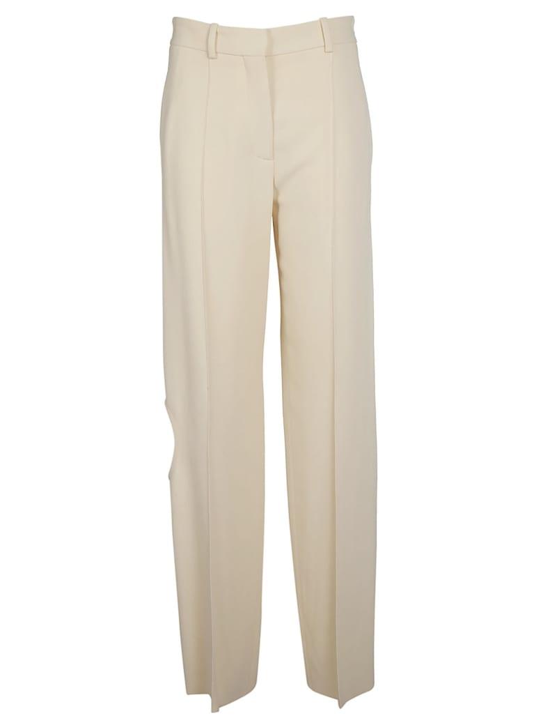 Victoria Beckham Straight Leg Trousers - Milk
