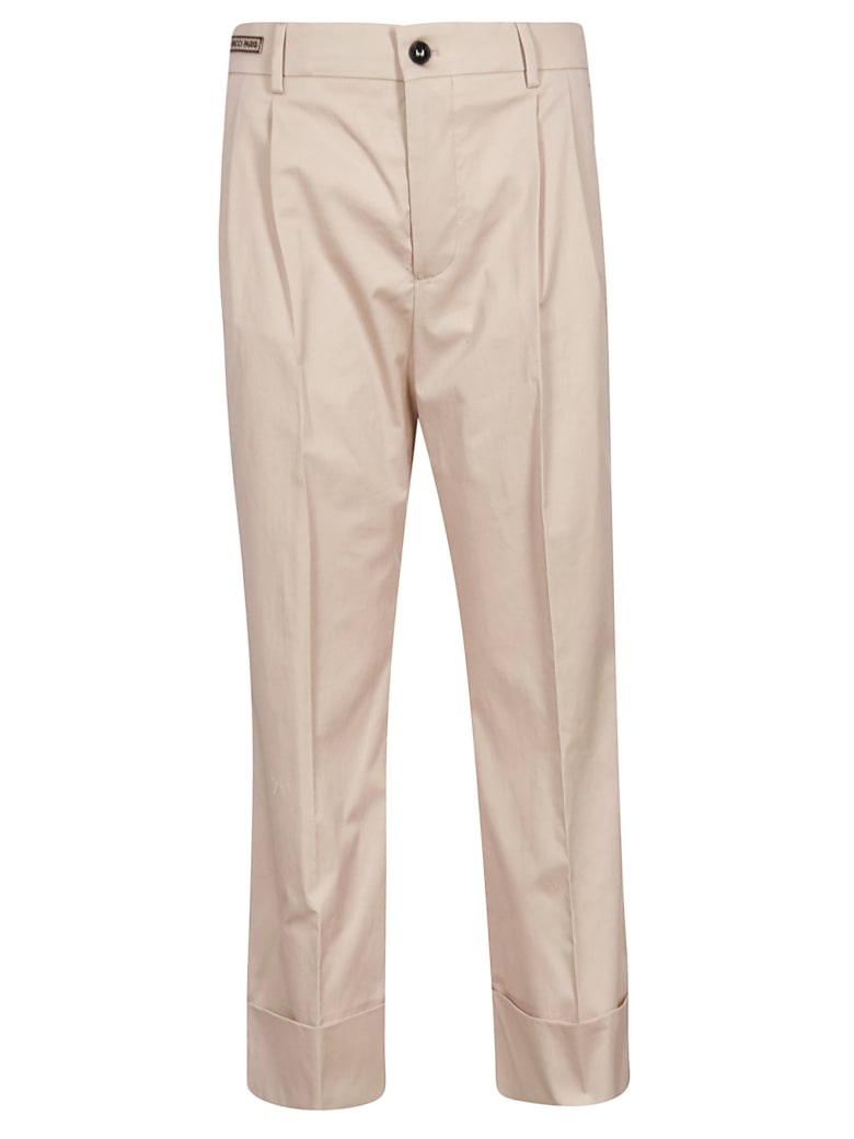 Berwich Cropped Trousers - Pink
