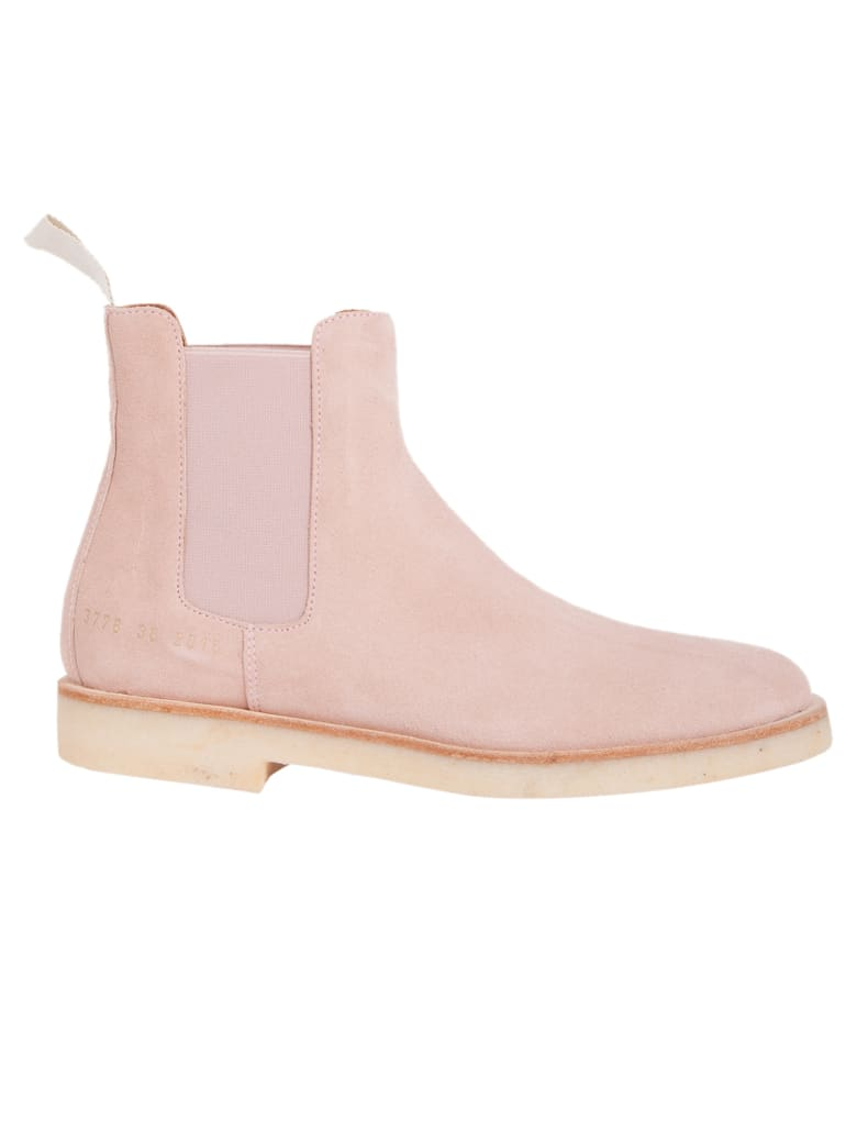 Common Projects Chelsea Boots - Blush