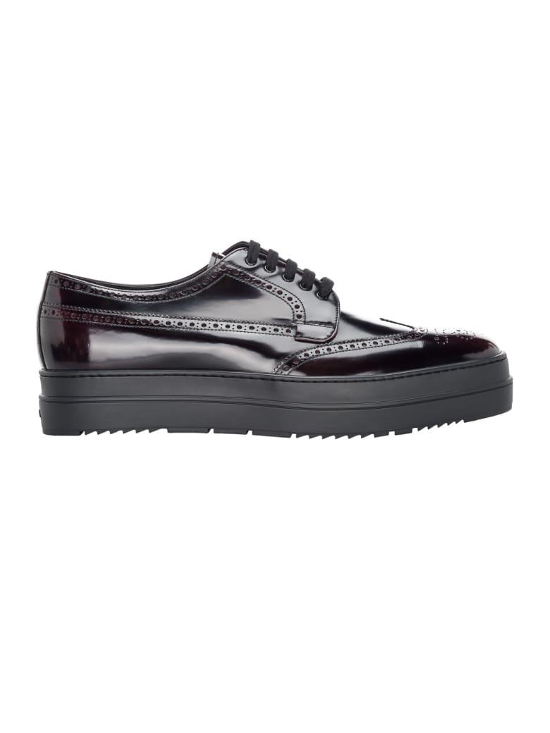 Prada Platform Derby Shoes - CORDOBAN