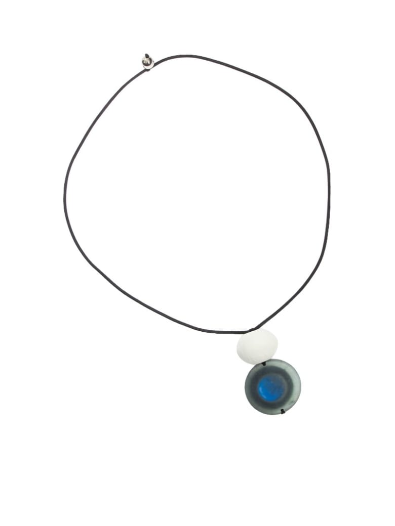 Maria Calderara - Necklace - Bianco blu