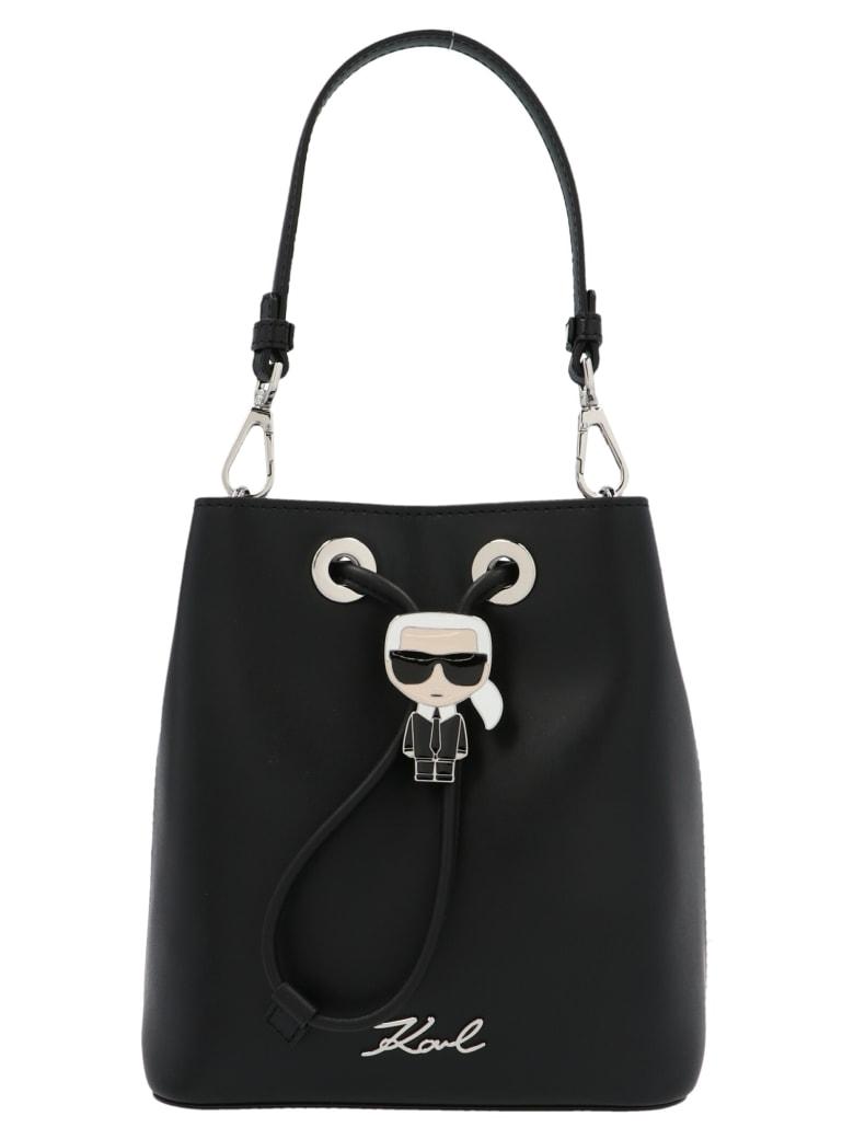 Karl Lagerfeld 'k/ikonik' Bag - Black