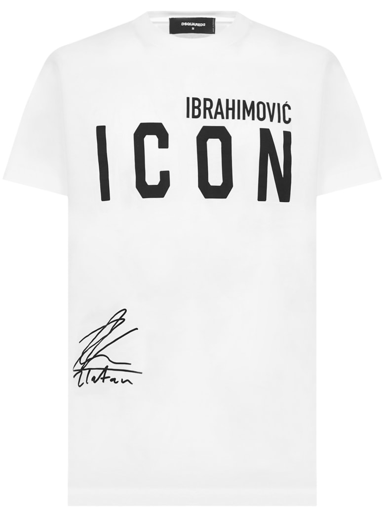Dsquared2 X Ibra Icon T-shirt - White