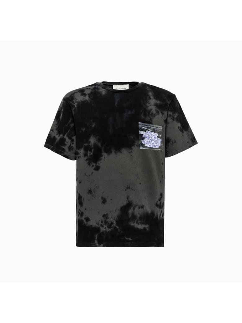 Filling Pieces Graphic Tee T-shirt 9842384186100 - BLACK