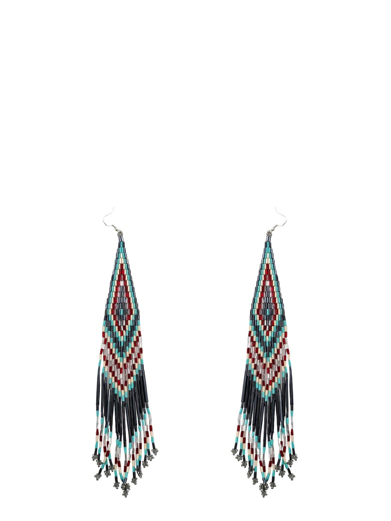 Jessie Western Earrings - Silver