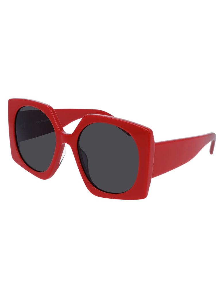 Courrèges CL1907 Sunglasses - Red Red Grey