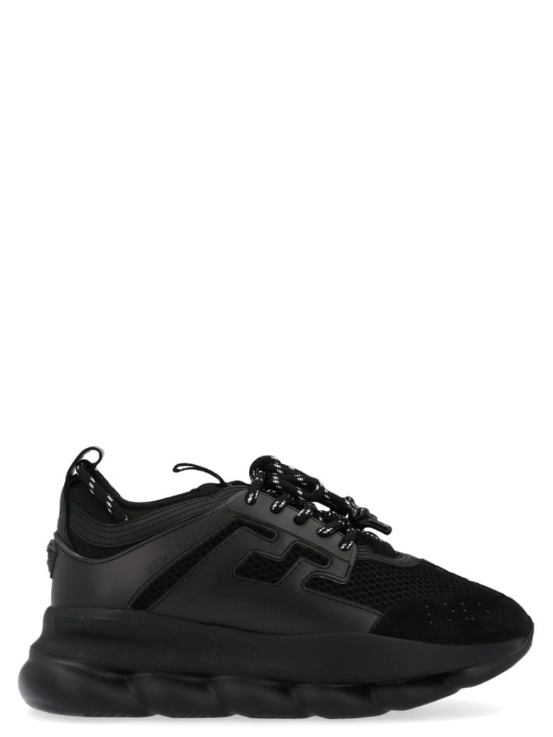 Versace 'chain Reaction' Shoes - Black