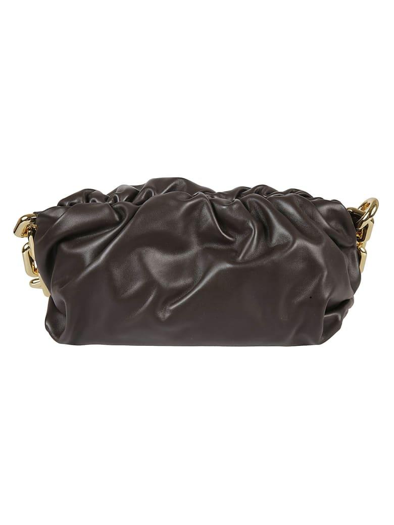 Bottega Veneta The Chain Pouch Shoulder Bag - Fondant Gold