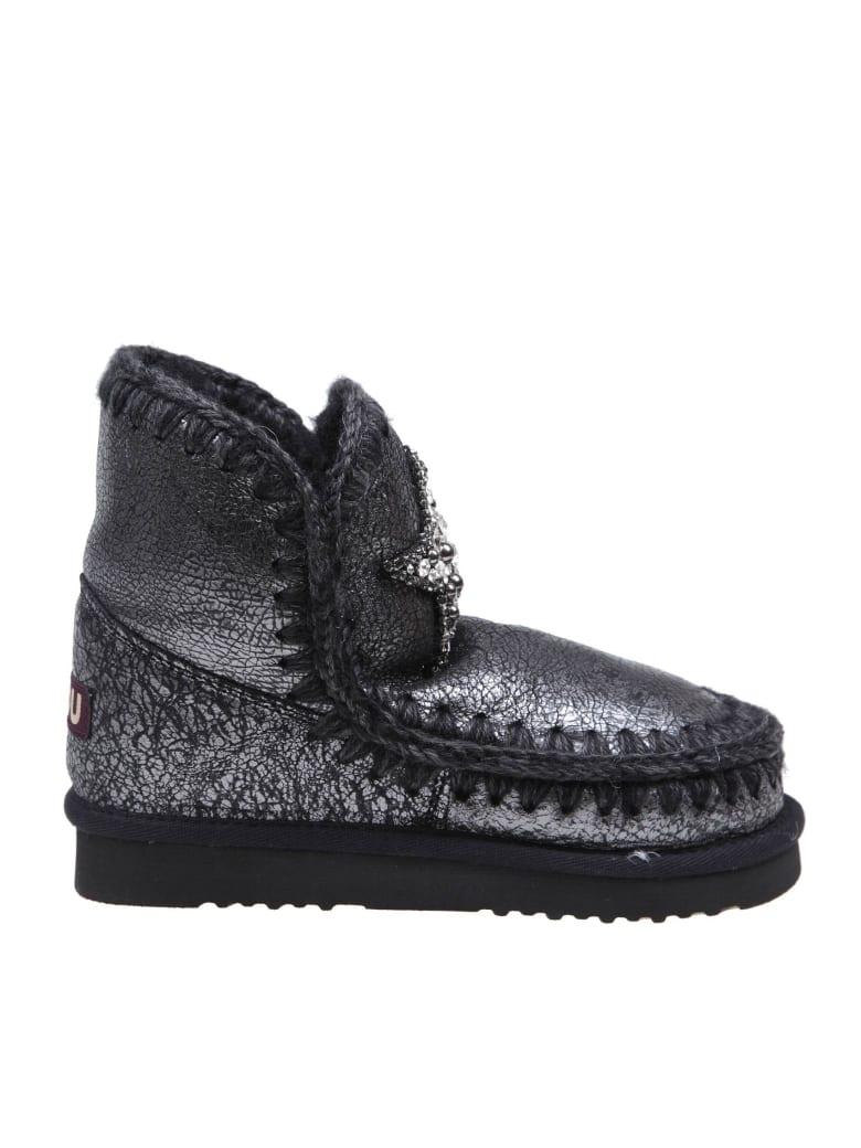 Mou Sneakers Eskimo18 In Black Leather