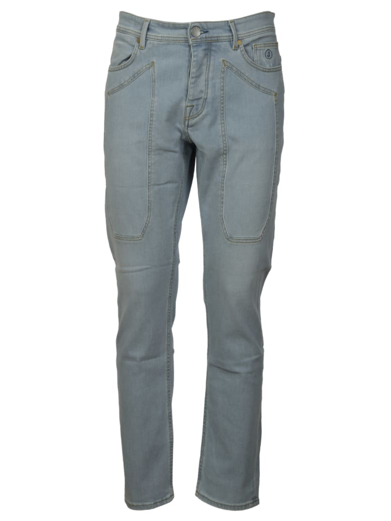 Jeckerson Classic Fitted Jeans - Denim chiaro