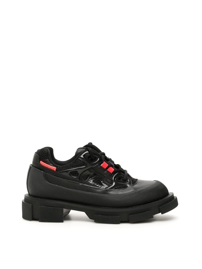 Both Gao Runner Sneakers - BLACK BLACK NEON PINK (Black)