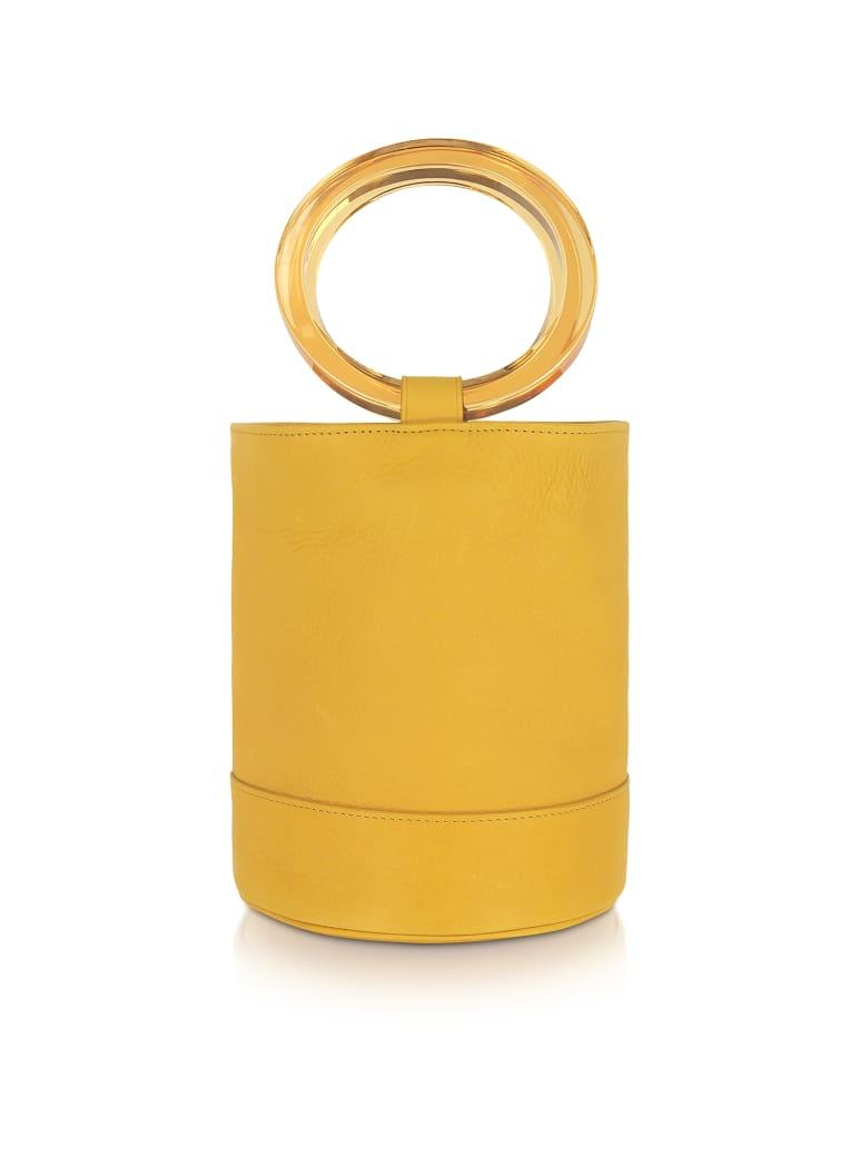 Simon Miller Sun Yellow Bonsai 20 Bucket Bag - Yellow