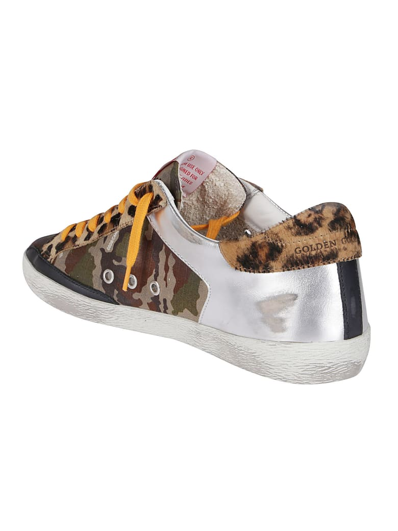 Golden Goose Multicolor Leather Superstar Sneakers - Multicolor