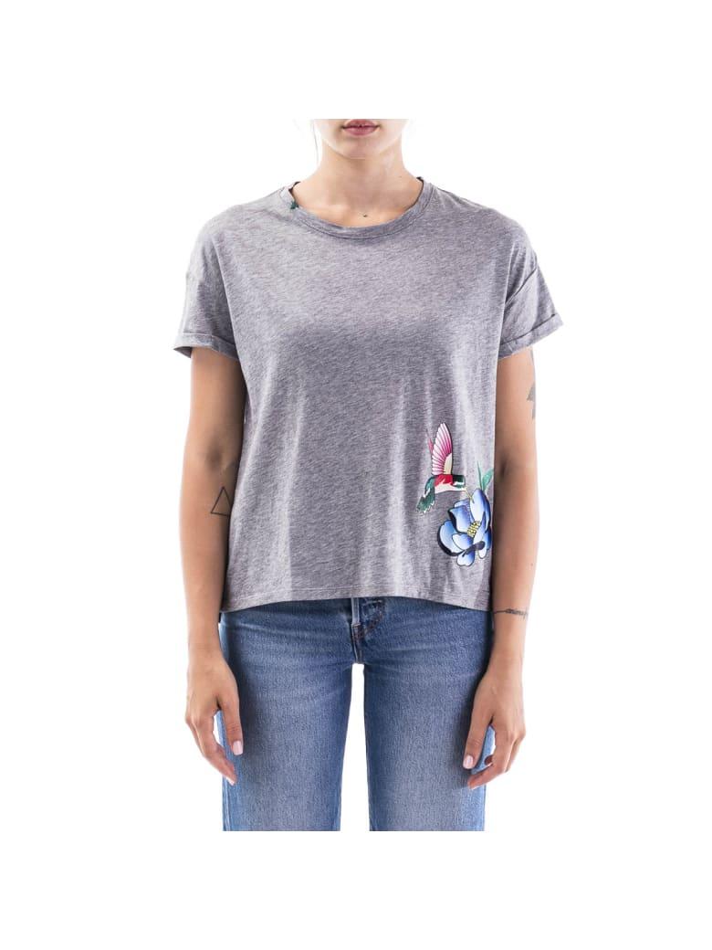 Sun 68 Sun68 Cotton T-shirt - MEDIUM GREY