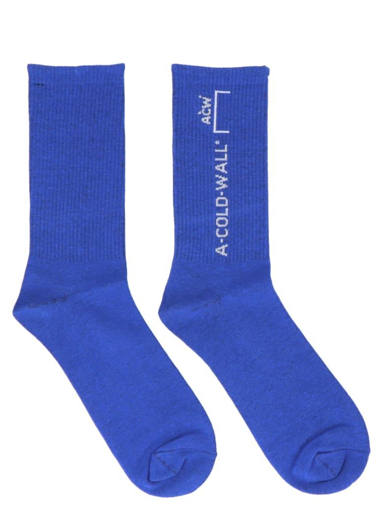 A-COLD-WALL Socks - Blue