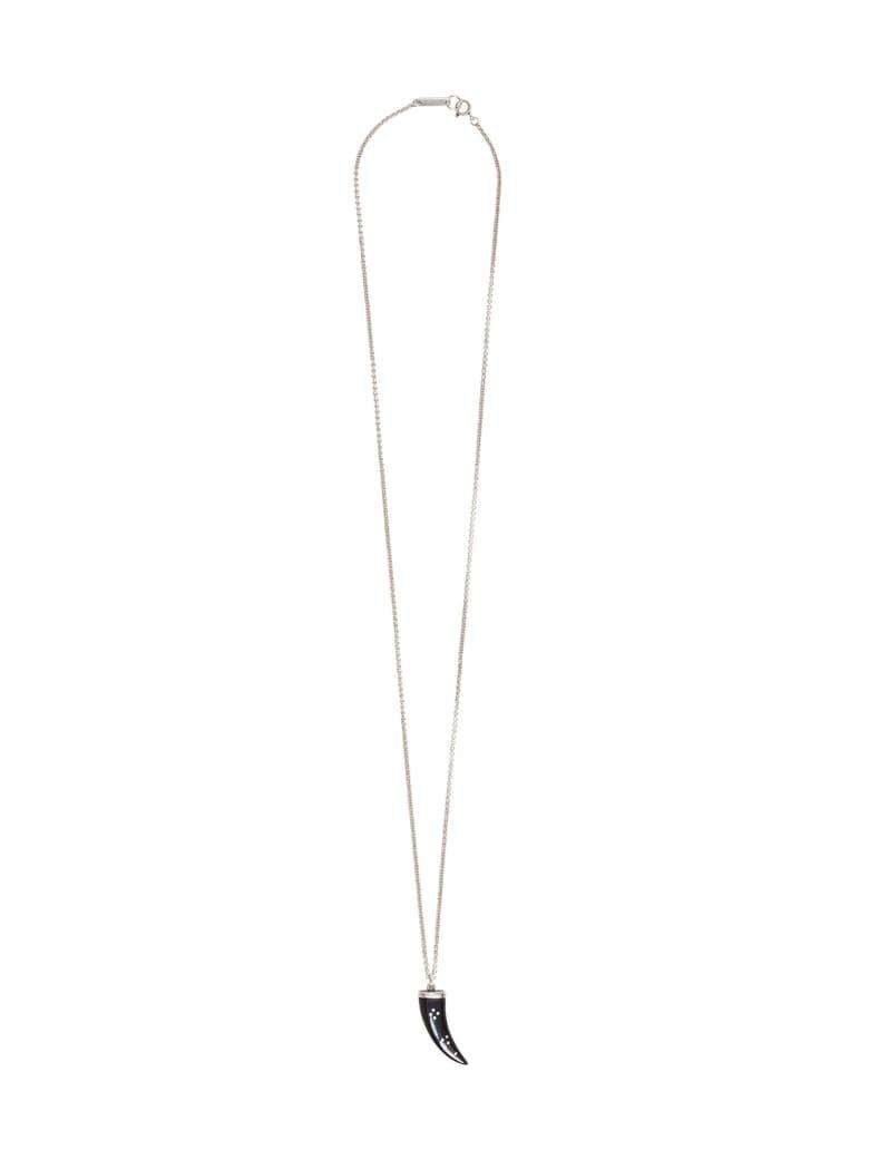 Isabel Marant Necklace With Bone Pendant - Black