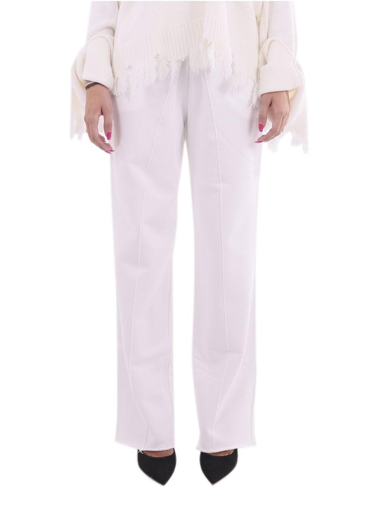 Ianua White Maria Trousers - White