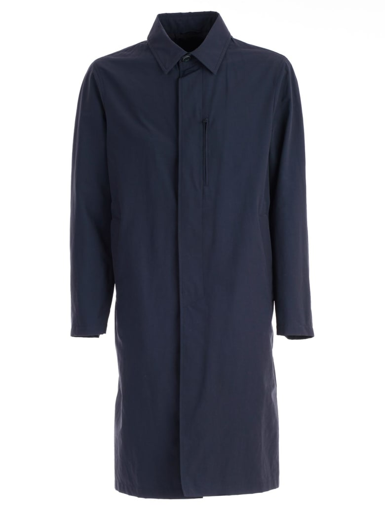 Herno Oversized Raincoat - Blue
