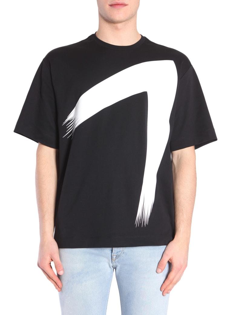 Diesel Black Gold Teoria-up T-shirt - NERO