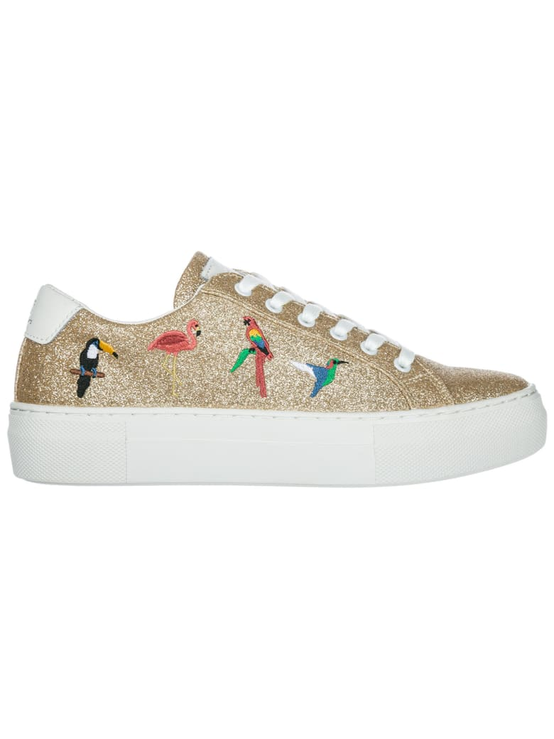 M.O.A. master of arts Moa Master Of Arts Victoria Tropical Sneakers - Oro