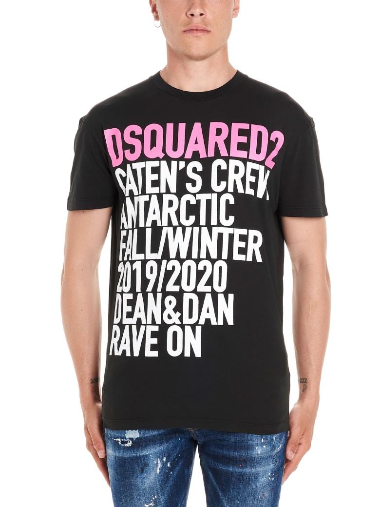 Dsquared2 'caten's Crew' T-shirt - Black