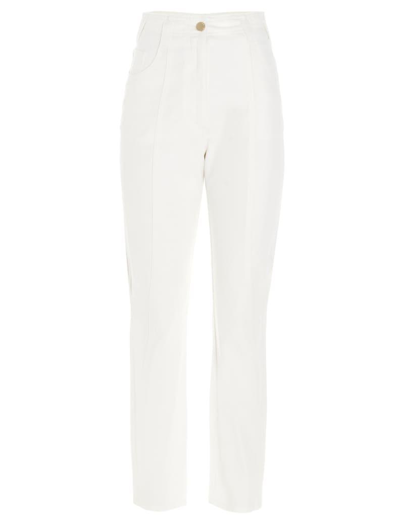 Alberta Ferretti Jeans - White