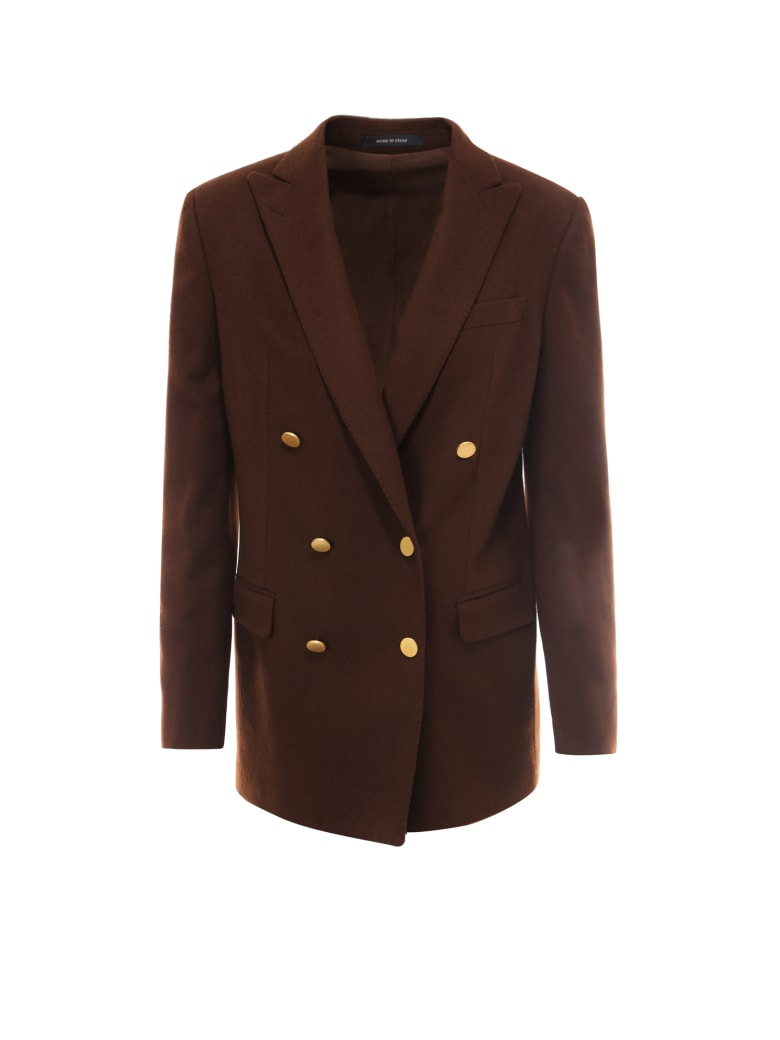 Tagliatore Jacket - Brown