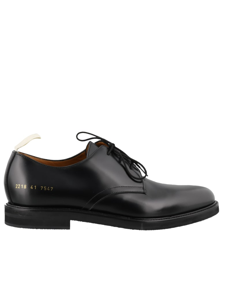Common Projects Standard Derby Laced Up Shoes - Black